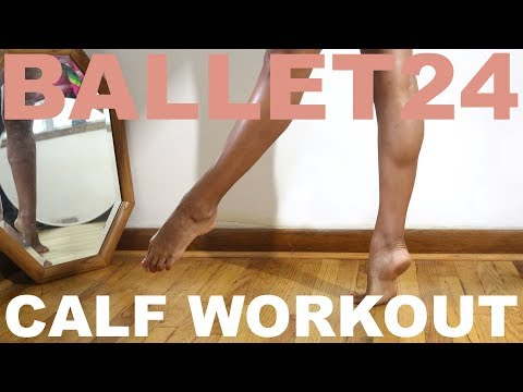 Ballet Workout: 10 Minute Calf Workout