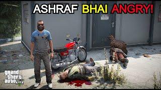 GTA V Real Life Mods - Karachi boy Ashraf Fights with Biker Gang   GTA 5 Pakistan