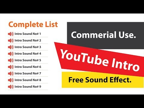 Commercial Use Sound Effect - Download it from Google Drive link   Free Sound effect for the intro