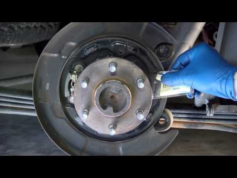 Rear Brake Replacement on Nissan Xterra