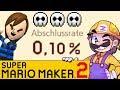 Ich zeige mein Level & GLPs 0,1% Level! | SUPER MARIO MAKER 2