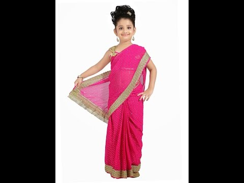 Easy Baby Saree in Marathi