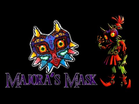 Majora's Mask Hama Bead