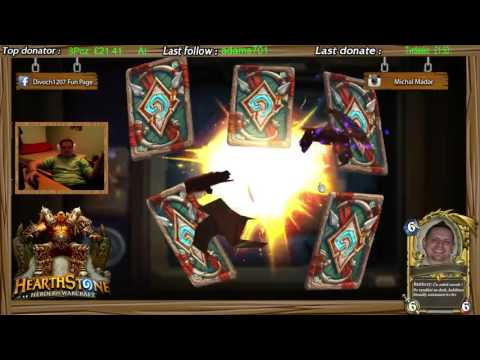 hearthstone heroes of warcraft opening 15 packs with 3x old murk-eye