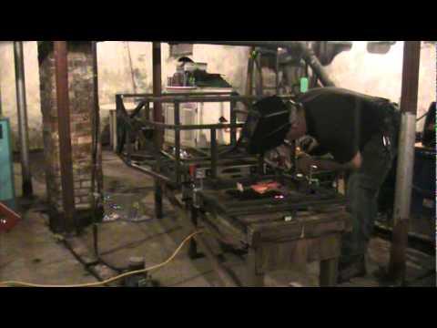 The B-3, Engine Cradle Buildup, Part 1