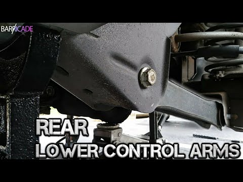 REAR LOWER CONTROL ARM REPLACEMENT (1993-'98 JEEP GRAND CHEROKEE)