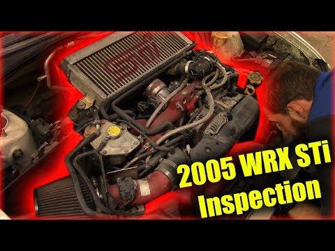 2005 STi Inspection