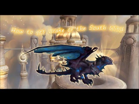 How to get the Reins of the South Wind drake mount from Al'akir Mount drop!