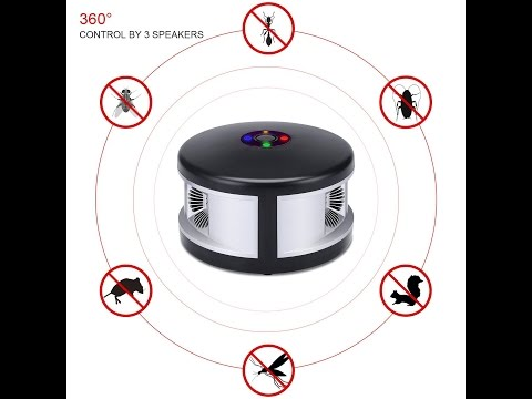 Ultrasonic Pest Control Repellent| Mouse Repeller