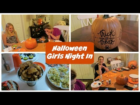 Halloween Girls Night In