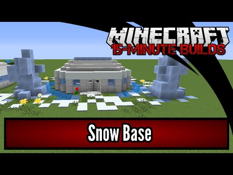 Minecraft 15-Minute Builds: Snow Base