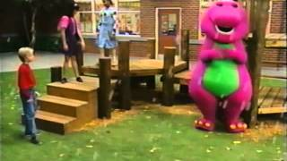 Closing to Barney's All Aboard for Sharing 1996 VHS