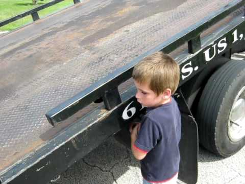tow truck driver in training
