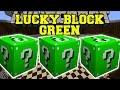 Minecraft Green Lucky Block Mod Ore Towers Golden Apple Well
