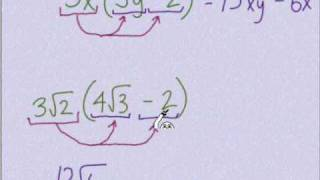 Multiplying Radicals Part One
