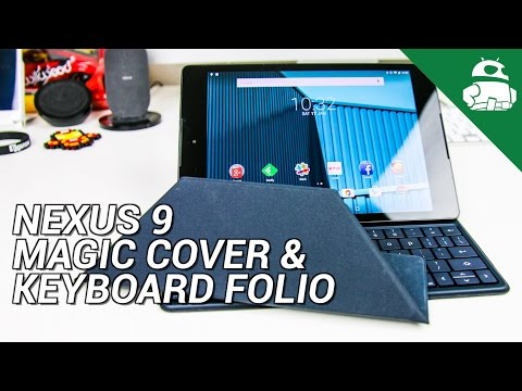 Nexus 9 Cases - Magic Cover & Keyboard Folio