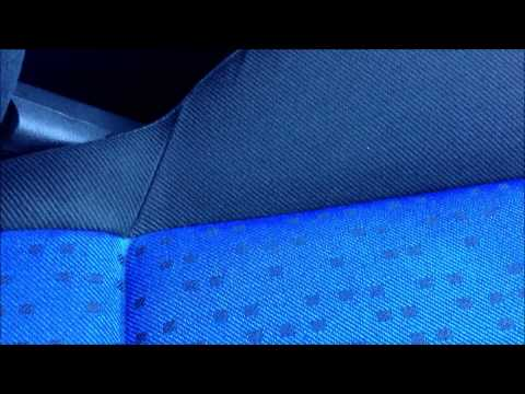 Cleaning cloth interior seats with steam cleaner stain removal