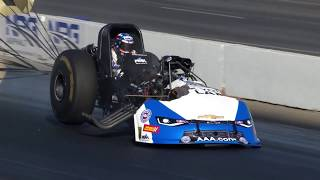 John Force suffers explosion at the Winternationals