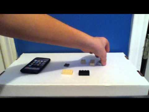 Broadway Review 2#: How to make a Lego iPod stand