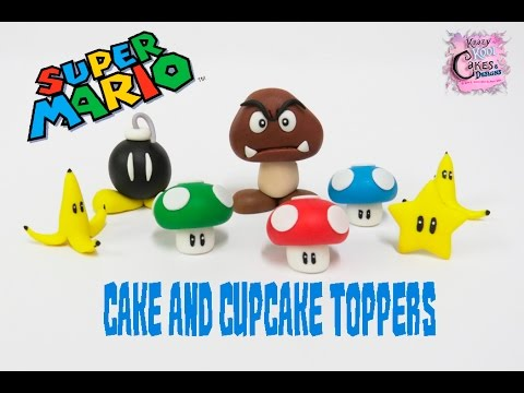 Super Mario Bros Toppers! FUN HOW TO