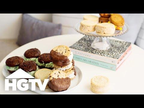 Easy Gourmet Ice Cream Sandwiches - HGTV