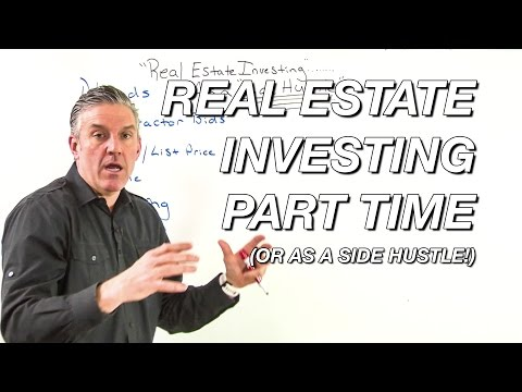 Real Estate Investing Part Time (or as a side hustle!)