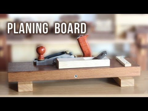 Planing Board for Japanese and Western Planes