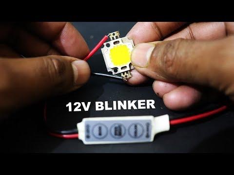 12V LED BLINKER Easy Way - kasnox