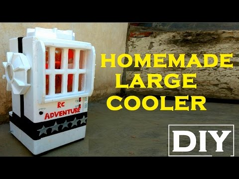 Wow Amazing Homemade BIG AIR COOLER At Home (DIY) Trailer ViDEO..