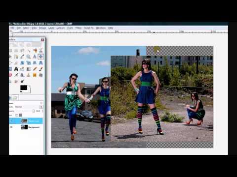 Gimp Tutorial : Photo Editing BLENDING Images