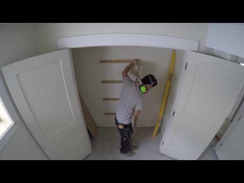 Closet Shelving Install
