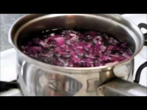 Red Cabbage Juice pH Indicator.wmv