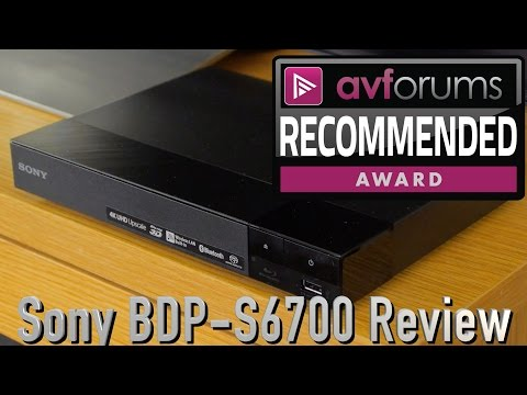 Sony BDP-S6700 Blu-ray Player Review