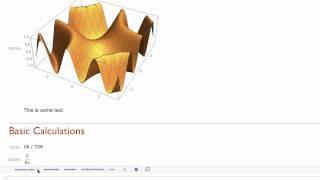 Hands-on Start to Mathematica 11