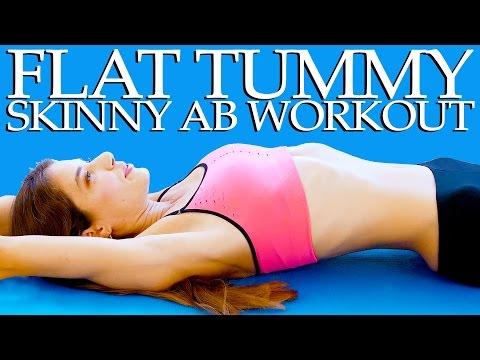 Flat Tummy Skinny Abs Workout – 20 Minute At Home Fitness Routine For Beginners
