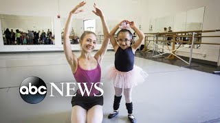 Workshop turns special-needs children into ballerinas