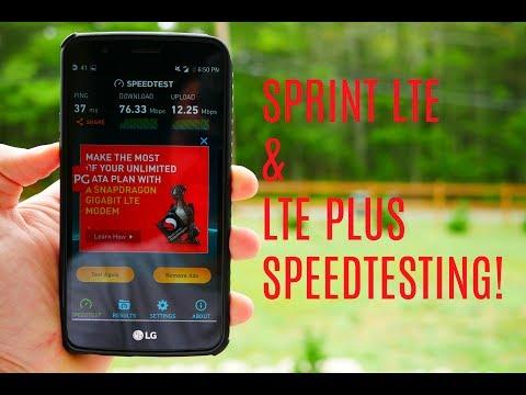 Sprint LTE Plus Network Testing!