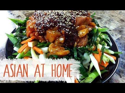Korean Spicy BBQ Chicken Recipe (Dak Galbi Recipe