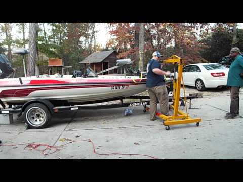 Quickest And Easiest Way To Remove A Boat From A Trailer