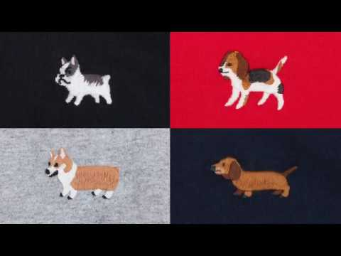 ad-lib 9 Dogs Collection 9狗繍花系列