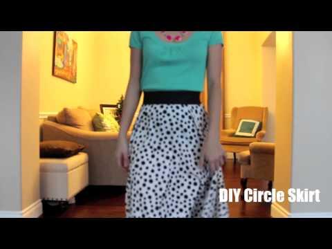 OOTD Modest Circle Skirt