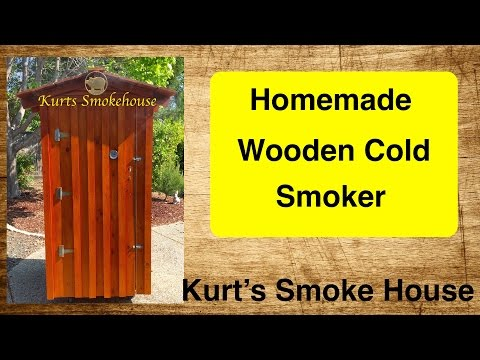 Cold Smoker for Bacon - Hams - Salmon -- Homemade Smoker