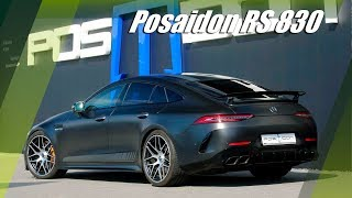 830 HP Mercedes AMG GT 63S By Posaidon