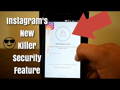 How To Make Instagram More secure| Instagram Two Factor Authentication| Instagram extra security
