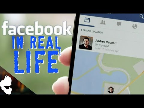 FACEBOOK IN REAL LIFE!?