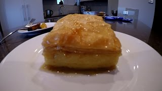 How to make Galaktoboureko (Greek Custard Pastry)