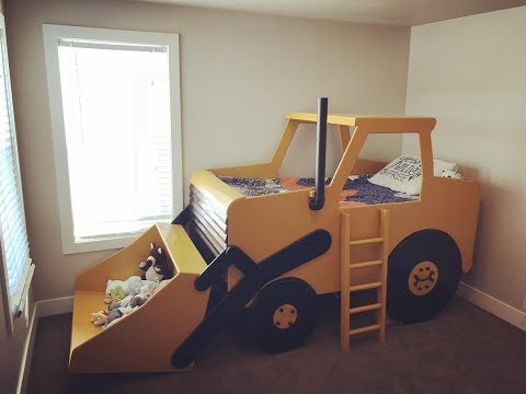 Coolest Construction Truck Bed!