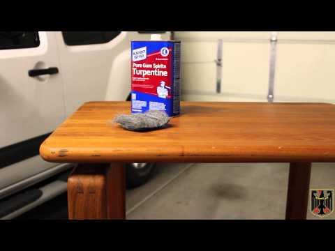Teak Side Tables Restoration