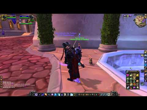 How to fly without a mount in WoW 5.1