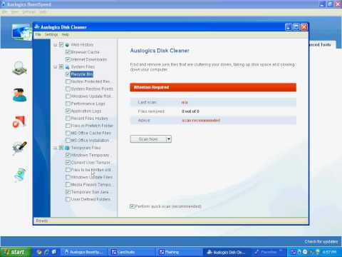How To Do A Disk Cleanup Using BoostSpeed